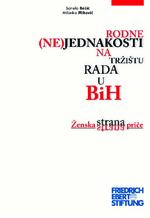 Rodne (ne)jednakosti na tržištu rada u BiH