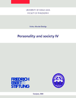 Personality and society IV